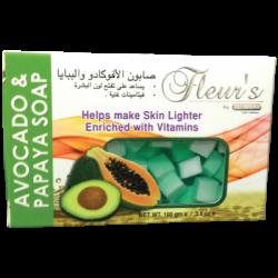 Fleur's Avacado & Papaya Soap